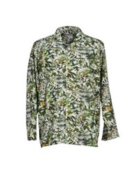 White Mountaineering Shirts Green