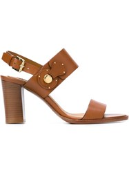 Ralph Lauren 'Lakota' Sandals Brown