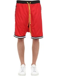 Norwood Chapters Nor Cotton Basketball Shorts Red