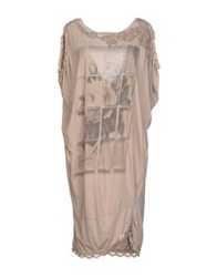 Guardaroba Short Dresses Beige