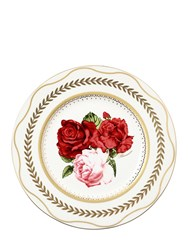 Blumarine Queen Of Roses Bone China Charger