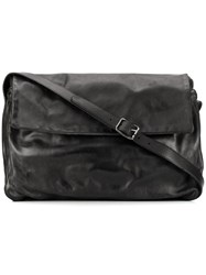 Numero 10 Edmonton Large Messenger Bag Black