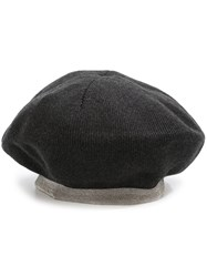 Brunello Cucinelli Knit Hat Grey