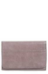 Hobo Women's 'Jill' Trifold Wallet Grey Granite
