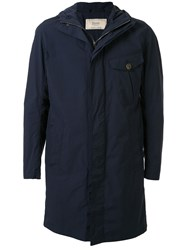 Herno Hooded Single Breasted Coat 60