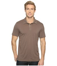 Smartwool Merino 150 Pattern Polo Taupe Men's Clothing