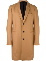 Paul Smith Ps By Classic Overcoat Nude Neutrals
