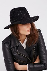 Free People Womens Mica Studded Fedora