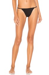 Skin Tulle Thong Black