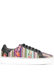 Etro Low Top Sneakers Black