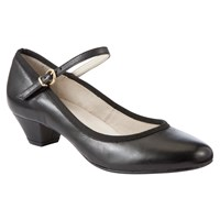 John Lewis Raleigh Leather Mary Jane Court Shoes