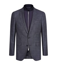 Boss Nivon Jacket With Internal Gillet Male Grey