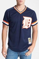 Men's Mitchell And Ness 'Alan Trammell Detroit Tigers' Authentic Mesh Bp Jersey