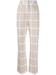Maison Martin Margiela Mm6 Checked Tailored Trousers 60