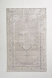 Anthropologie Overdyed Naima Rug Silver