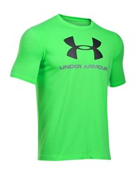 Under Armour Charged Cotton Sportstyle Logo T Shirt Neon Green