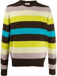 Acne Studios Striped Knitted Jumper 60