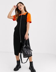 Weekday Aria Dress In Black