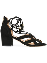 Michael Michael Kors 'Mirabel Mid' Sandals Black