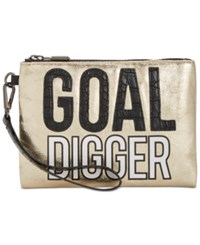 Sam Edelman Circus By Deny Clutch Goal Digger Gold