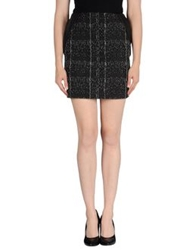 Mauro Gasperi Mini Skirts Black