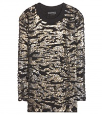 Isabel Marant Fedilon Sequin Top Gold