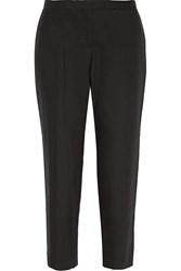 Issa Rita Cotton Straight Leg Pants Black