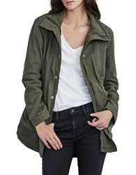 Velvet By Graham And Spencer Linen Cotton Anorak Jacket
