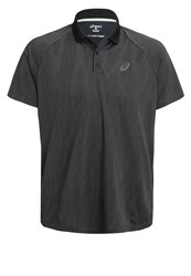 Asics Challenger Gpx Polo Shirt Performance Black
