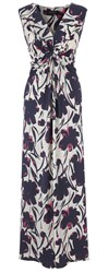 Grace Made In Britain Floral Maxi Pink