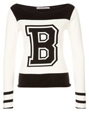 Bloom Jumper Blackandcreme White