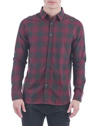 Sovereign Code Springfield Checked Sportshirt Red