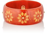 Mark Davis Women's Citrine And Bakelite Bangle Colorless