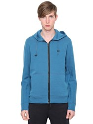 Lanvin Cotton Jersey Hooded Sweatshirt
