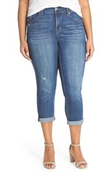Plus Size Women's Melissa Mccarthy Seven7 Stretch Crop Jeans Crosby