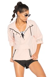 Ivy Park Button Up Hoodie Pink