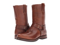 Frye John Addison Harness Whiskey Smooth Pull Up Leather Men's Boots Brown