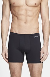 Naked 'Active' Microfiber Boxer Briefs Black