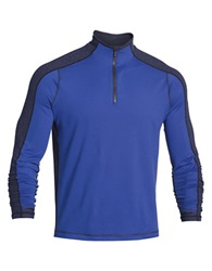 Under Armour Elevated 1 4 Zip Pullover Royal Midnight