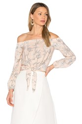 Amanda Uprichard Mila Top Blush