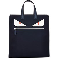 Fendi Men's Buggies Tote Navy