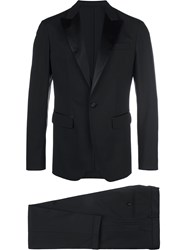 Dsquared2 Tuxedo Single Breasted Suit Black