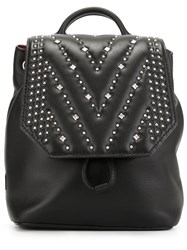 Mcm 'Diamond Disco' Backpack Black