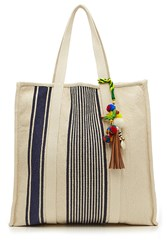 Star Mela Robyn Cotton Tote With Embellished Keychain Gr. One Size