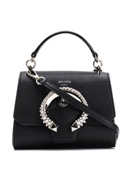 Jimmy Choo Madeline Top Handle Bag Black