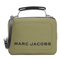 Marc Jacobs Green The Textured Mini Box Bag