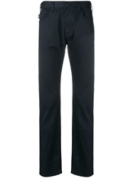 Emporio Armani Classic Slim Fit Trousers Blue