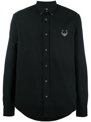 Kenzo Mini Tiger Button Down Shirt Black