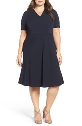 Persona By Marina Rinaldi Plus Size Women's Fit And Flare Dress