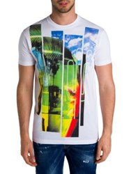 Dsquared Short Sleeve Graphic Tee White